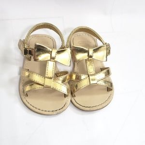 Gymboree Strappy Bow Sandals Size 4